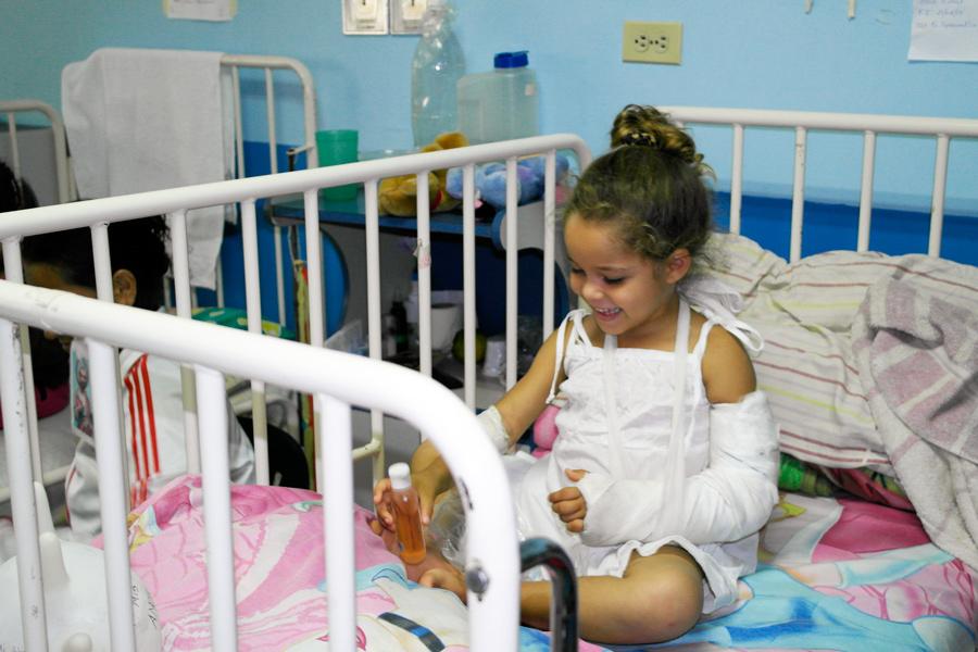 Brindando Asistencia a Hospitales Venezolanos